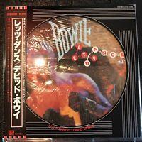 David Bowie Let's Dance EMI America EYS-91069 Vinyl, LP, Album, Limited Pic
