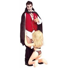Down for the Count Costume Adult Funny Vampire Halloween Fancy Dress