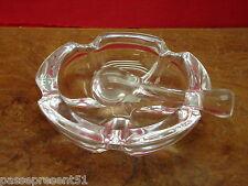 Très joli cendrier ou vide-poches en cristal, Champagne Louis Roderer, Reims