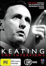 Keating - The Interviews (DVD, 2-Disc Set) BRAND NEW FACTORY SEALED FAST POST