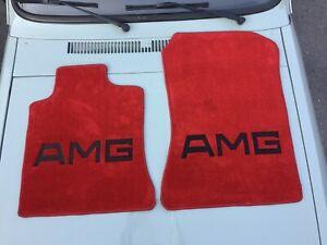 For Mercedes-Benz R129 SL500 SL600 SL280 300SL ROADSTER FLOOR MATS RED 1990-02