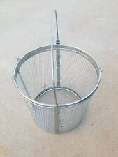 T-0175-R Parts Washer Accessory Basket Mesh 8.5 x 9 Inch Round
