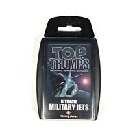Top Trumps Ultimate Military Jets From Year 2000 Boxed Collectable Trading Cards