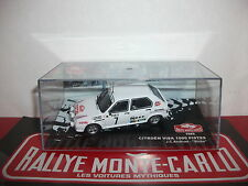 Citroën Visa 1000 pistes 1985 Andruet Biche Rallye monte carlo altaya IXO 1/43