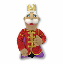 KING  PUPPET ~ Melissa & and Doug #3890  FREE SHIPPING in USA