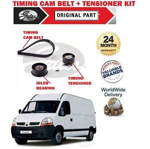 FOR RENAULT MASTER T28 2000-2006 2.2 DCi 16V NEW GATES TIMING CAM BELT KIT