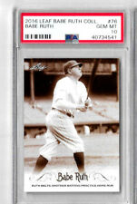 2016 Leaf Babe Ruth Collection Babe Ruth #76 Gem Mint PSA 10