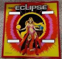 Gottlieb Eclipse NOS pinball machine backglass - Super Rare