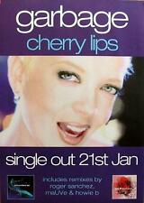Garbage POSTER CHERRY LIPS
