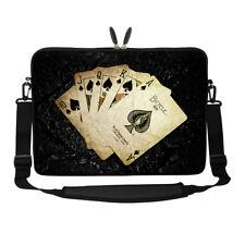 """17.3"""" Laptop Computer Sleeve Case Bag w Hidden Handle & Shoulder Strap 3014"""
