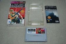 Super Famicom WOLFENSTEIN 3D w/ Box NTSC-J SFC SNES Japan import Imagineer