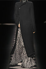 **HAIDER ACKERMANN** Wool Blend Maxi Coat **RUNWAY**