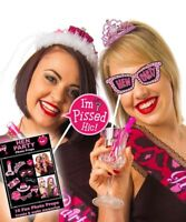 10 x HEN NIGHT Party Bride to be Fun Game Accessory Photo Booth Props