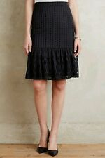 NEW Anthropologie Eyelet Trumpet Skirt by Moulinette Soeurs $98.00 Size Small