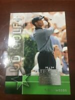 "2004 TIGER WOODS UPPER DECK GOLF  ""NATIONAL TRADING CARD DAY""   RARE"