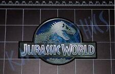 Jurassic World movie logo style vinyl decal sticker JP dinosaur trex raptor park