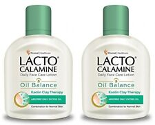 Pack of 2 Lacto Calamine Combination to Normal Skin Oil Balance Lotion 60ml Each