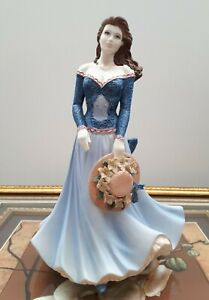 "COALPORT FIGURINE AGE OF ELEGANCE ""TOUCH OF SPRING"""