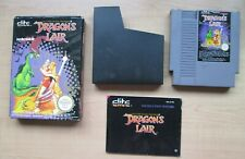 Nintendo NES - Dragon's Lair - BOXED Game - Manual INCLUDED