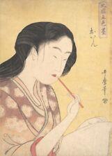 High-Ranking Courtesan KITAGAWA UTAMARO Japanese, 1700's, ukiyo-e posters