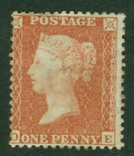 SG 29 1d red brown perf 14 WMK large crown. Mounted mint CAT £240