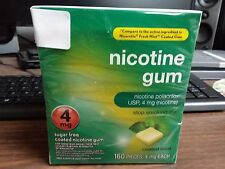 NICOTINE GUM 4mg 160 pieces COATED MINT