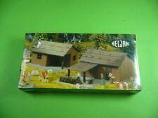 111K01 Alter HELJAN H0 1792 Bausatz: Sennerhütte mit Scheune; Hütte