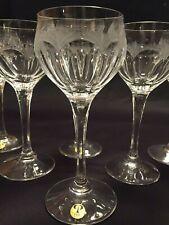 Peill kristall Diana Série de 2 verres à eau signés + neufs - H: 185 mm