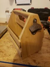 6-Pack Wooden Beer Caddy - Homemade