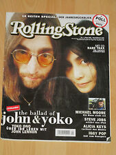 Rolling Stone + CD - Januar 2004 - French Connection - Steve Jobs - Iggy Pop