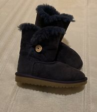 UGG Australia Blue Suede kids boots Size 1