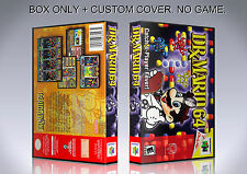DR MARIO 64. NTSC VERSION. Box/Case. Nintendo 64. BOX + COVER. (NO GAME).