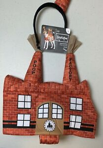 """POOP FACTORY Halloween COSTUME L LARGE DOG BOOTIQUE OUTFIT CLOTHES 17-19"""" New"""