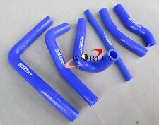 For Honda CR250R CR250 R 2000 2001 00 01 silicone radiator hose kit fits BLUE
