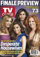 TV Guide Magazine Desperate Housewives Felicity Huffman Teri Hatcher 2012