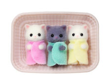 Sylvanian Families Calico Critters Persian Cat Baby Triplets