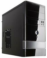 Rosewill Black Computer PC Case, Micro ATX Mini Tower with Dual Fans FBM-01