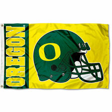 University of Oregon Ducks Flag UO Football Large 3x5