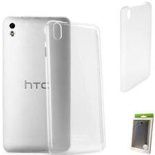 COVER CUSTODIA ORIGINALE HTC PER DESIRE 816 HARD SHELL CASE TRASPARENTE HC C951