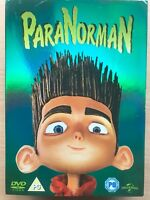 Paranorman DVD 2012 Animated Family Feature Film Movie with Slipcover