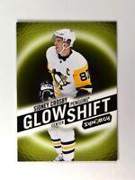 2018-19 UD Upper Deck Synergy Glow Shift Glow in the Dark #G-8 Sidney Crosby