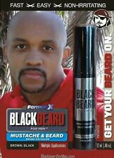 Blackbeard Mens Hair Colour Mascara Beard Moustache Eyebrows BROWN BLACK