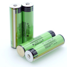 4x Protected Panasonic NCR18650B 3400mAh Li-ion Battery with PCB + Plastic Case