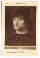 musée du louvre , antonello da messina, portrait d'homme, dit le condottiere