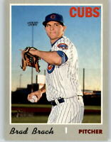 (10) 2019 Topps Heritage High Number BRAD BRACH 10-Card Lot Cubs #588