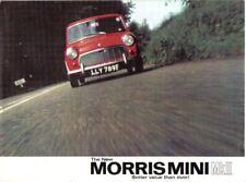 Morris Mini Mk II Saloon 850 & 1000 1967-69 Original Sales Brochure No. 2456/A