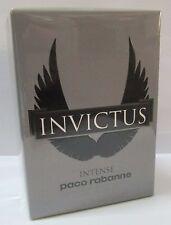 Paco Rabanne INVICTUS INTENSE EDT 100ml 3.4oz Eau de Toilette NEW 100% ORIGINAL