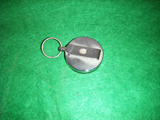 Retractable key holder with belt clip