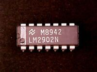 Free Shipping 5 x LM2902N LM2902 2902 IC LOW POWER QUAD OP AMP USA Seller