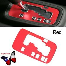 Red Aluminum Inner Accessories Trim Gear Frame Cover for Jeep Wrangler 2012-16